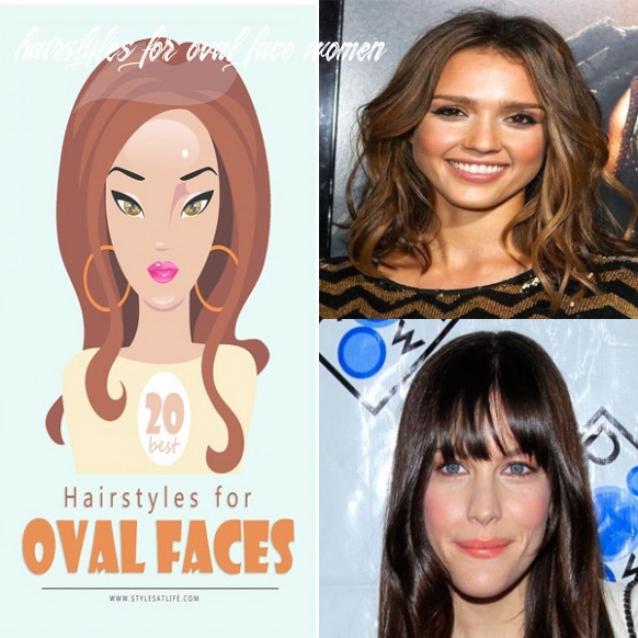 9 best looking hairstyles for oval face shape women in 99 hairstyles for oval face women