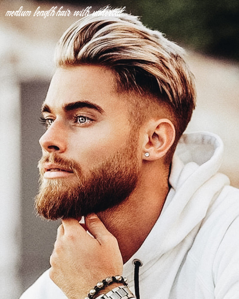 9 best medium length haircuts for men and how to style them medium length hair with undercut