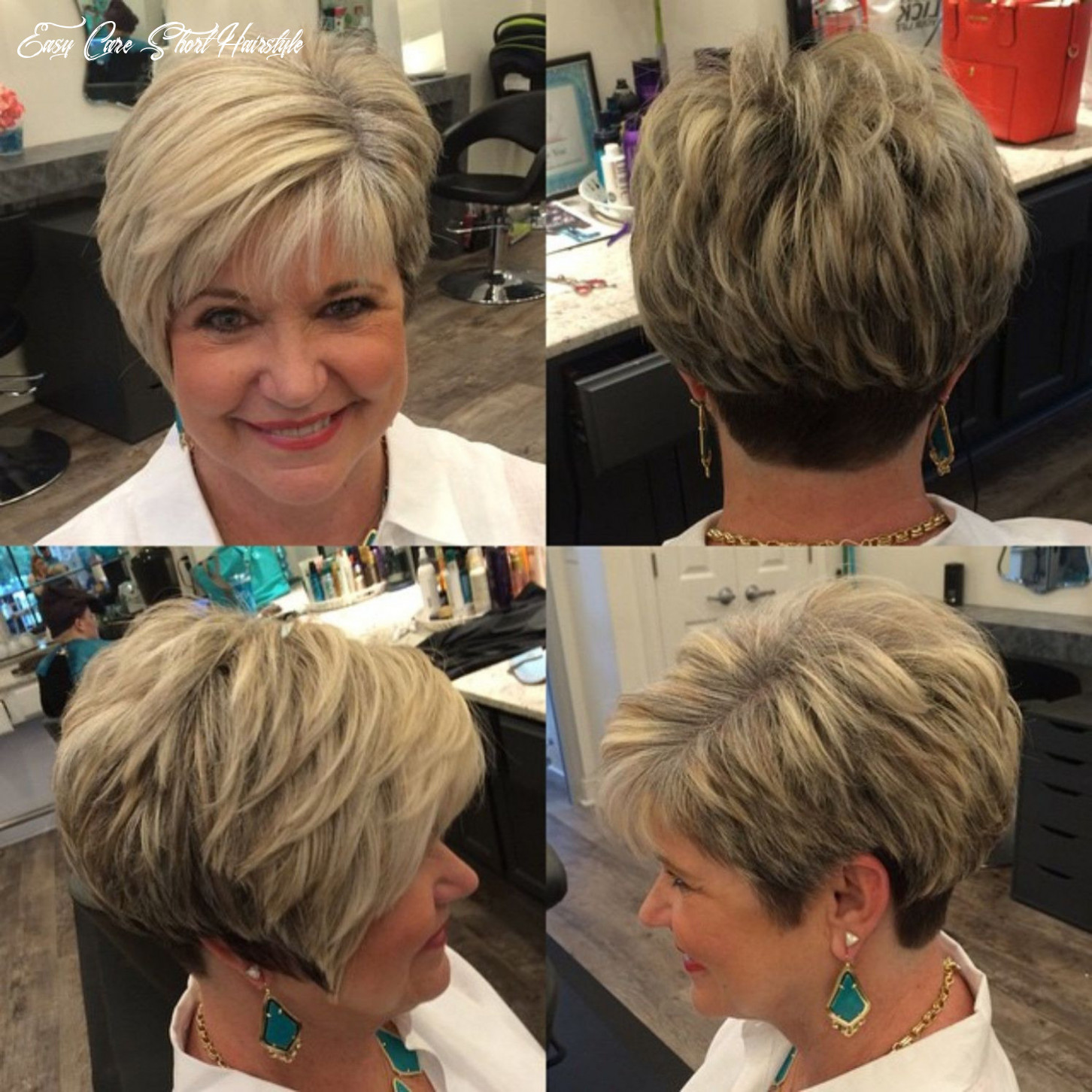 9 Best Of Short Easy Care Hairstyles for Fine Hair