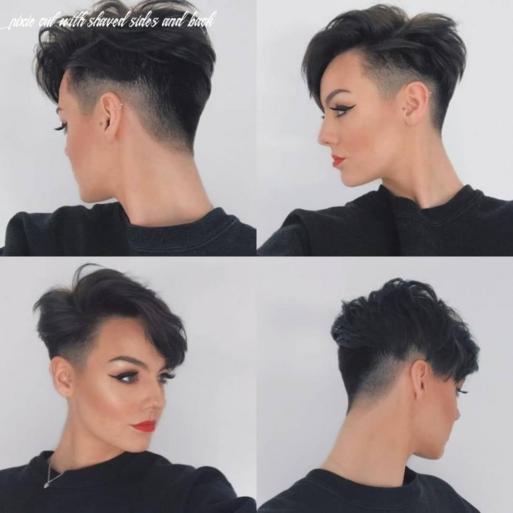 9 best pixie cut hairstyles for 9 you will want to see pixie cut with shaved sides and back