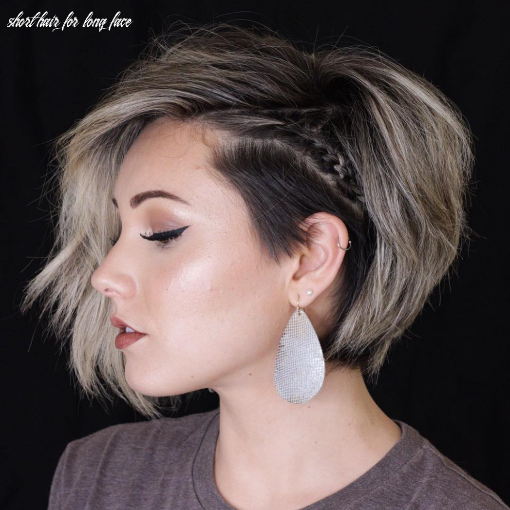 9 best short haircuts for anyone with a long face shape short hair for long face
