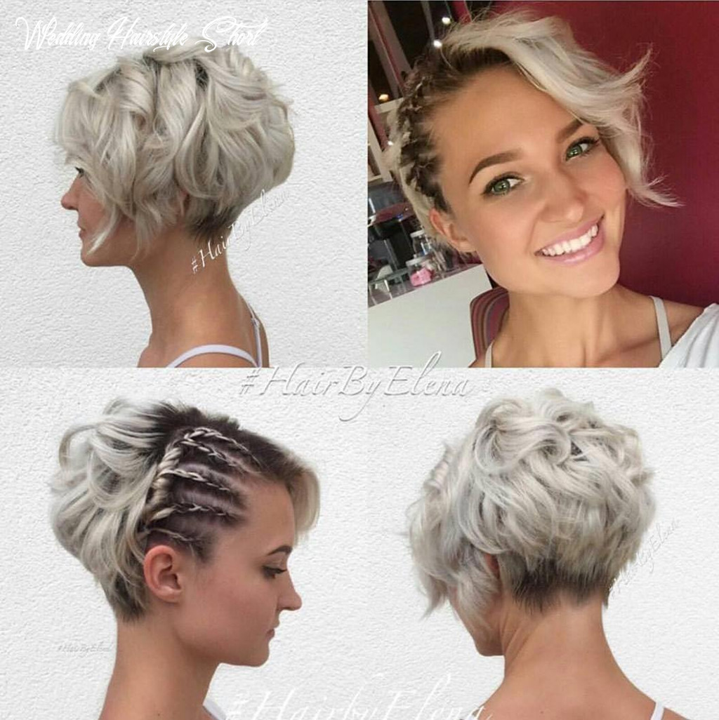 """9 best short wedding hairstyles that make you say """"wow!"""" wedding hairstyle short"""