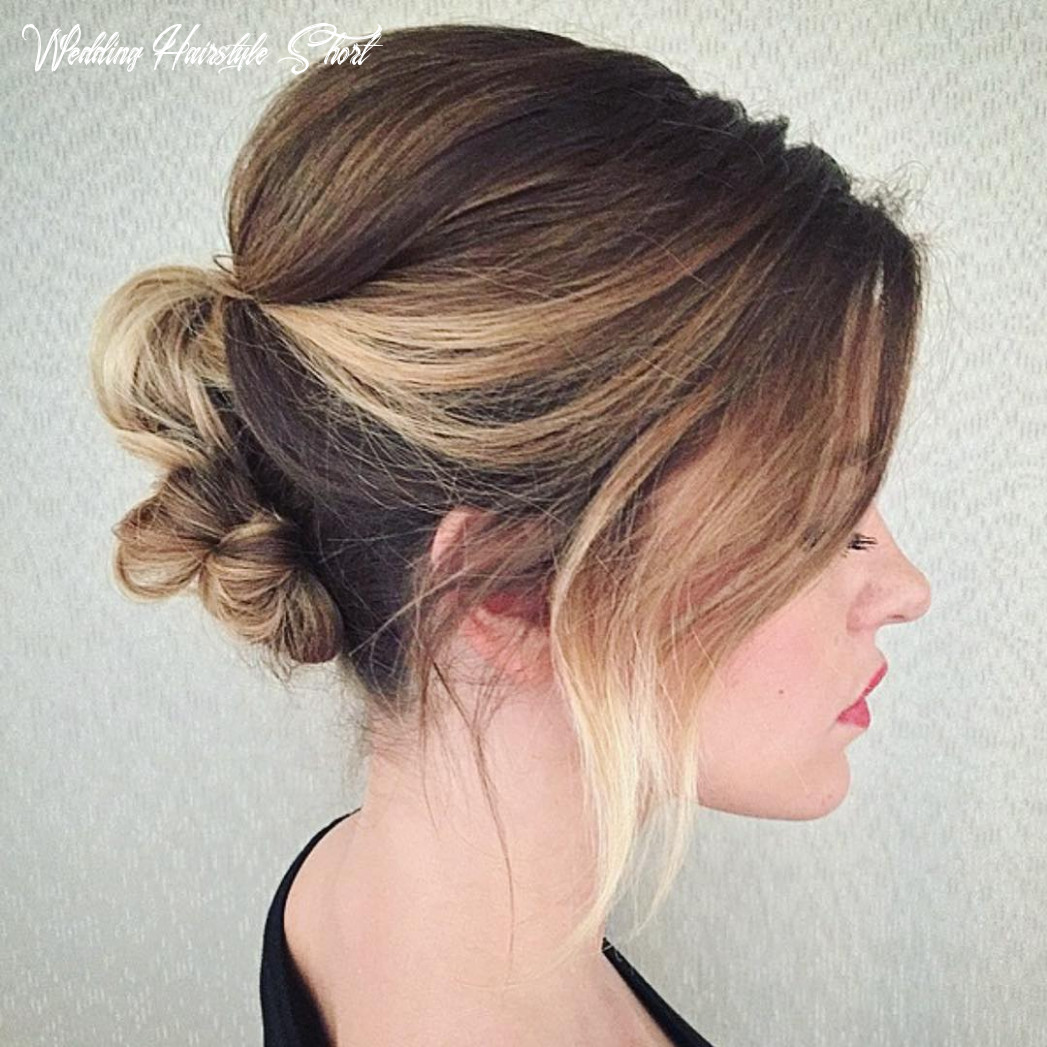 """9 Best Short Wedding Hairstyles That Make You Say """"Wow!"""""""