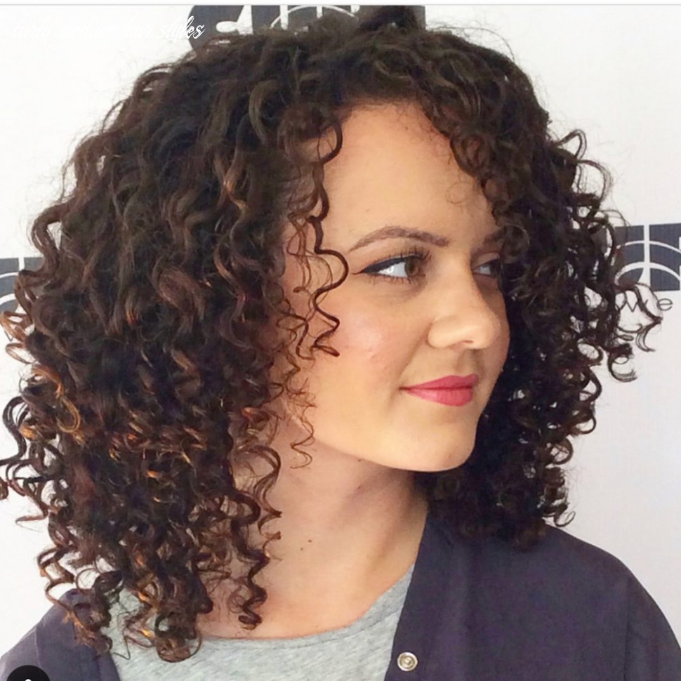 9 best shoulder length curly hair ideas (9 hairstyles) curly medium hair styles