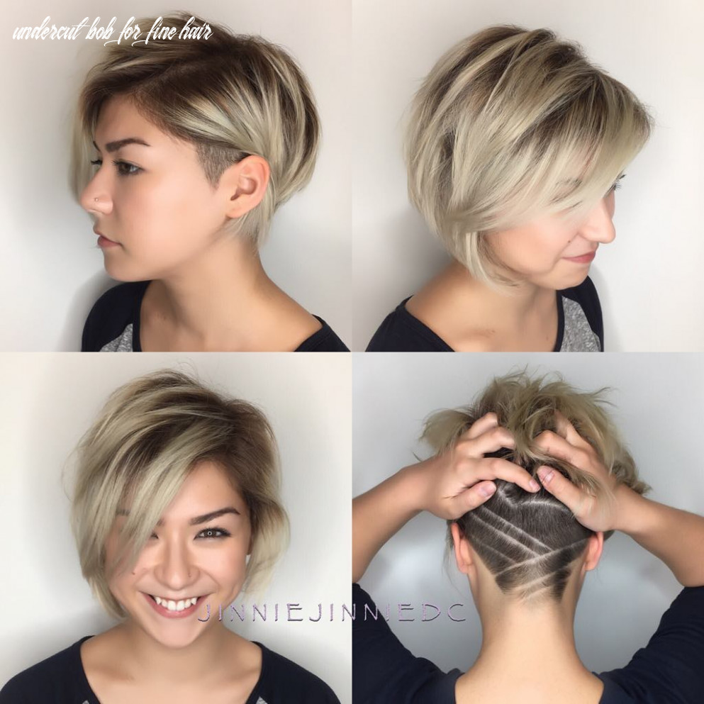 9 best trendy short hairstyles for fine hair hair adviser undercut bob for fine hair