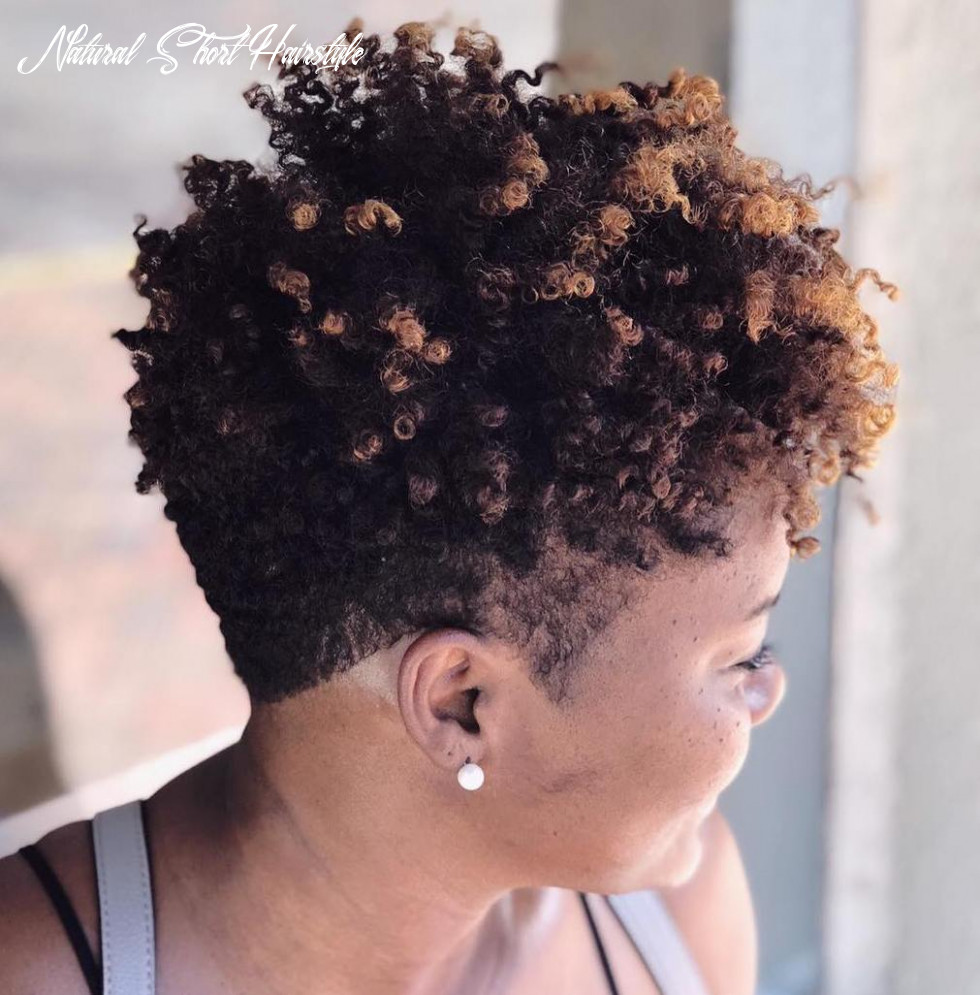 9 breathtaking hairstyles for short natural hair hair adviser natural short hairstyle