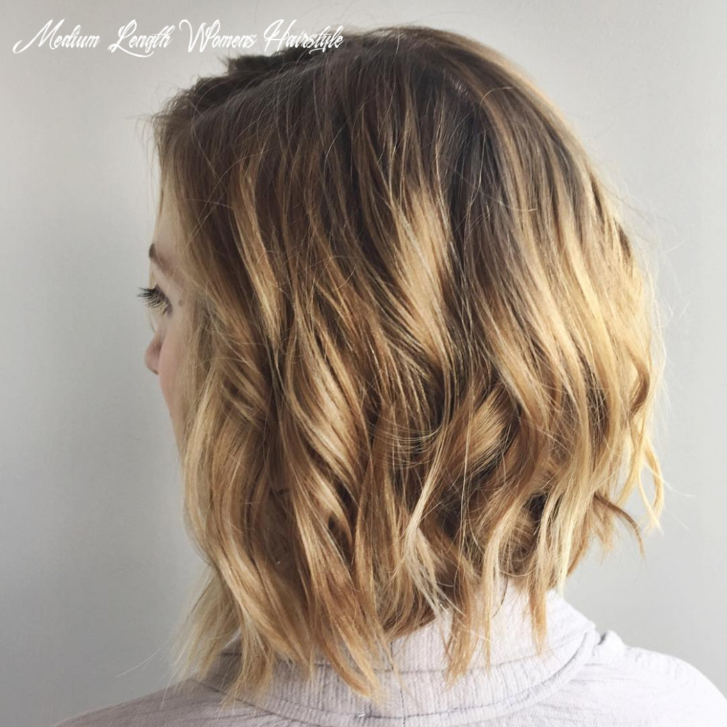 9 chic everyday hairstyles for shoulder length hair 9 medium length womens hairstyle