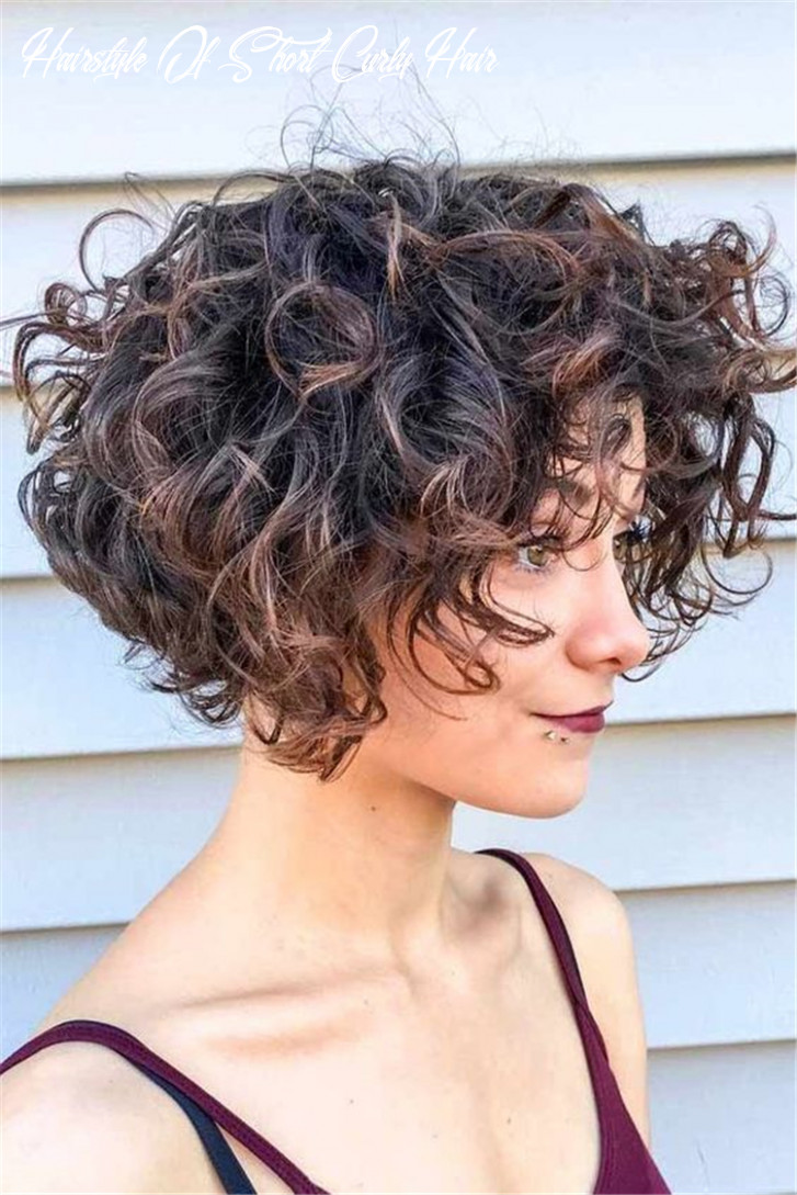9 chic short curly hairstyles to make you look cool chic hostess hairstyle of short curly hair