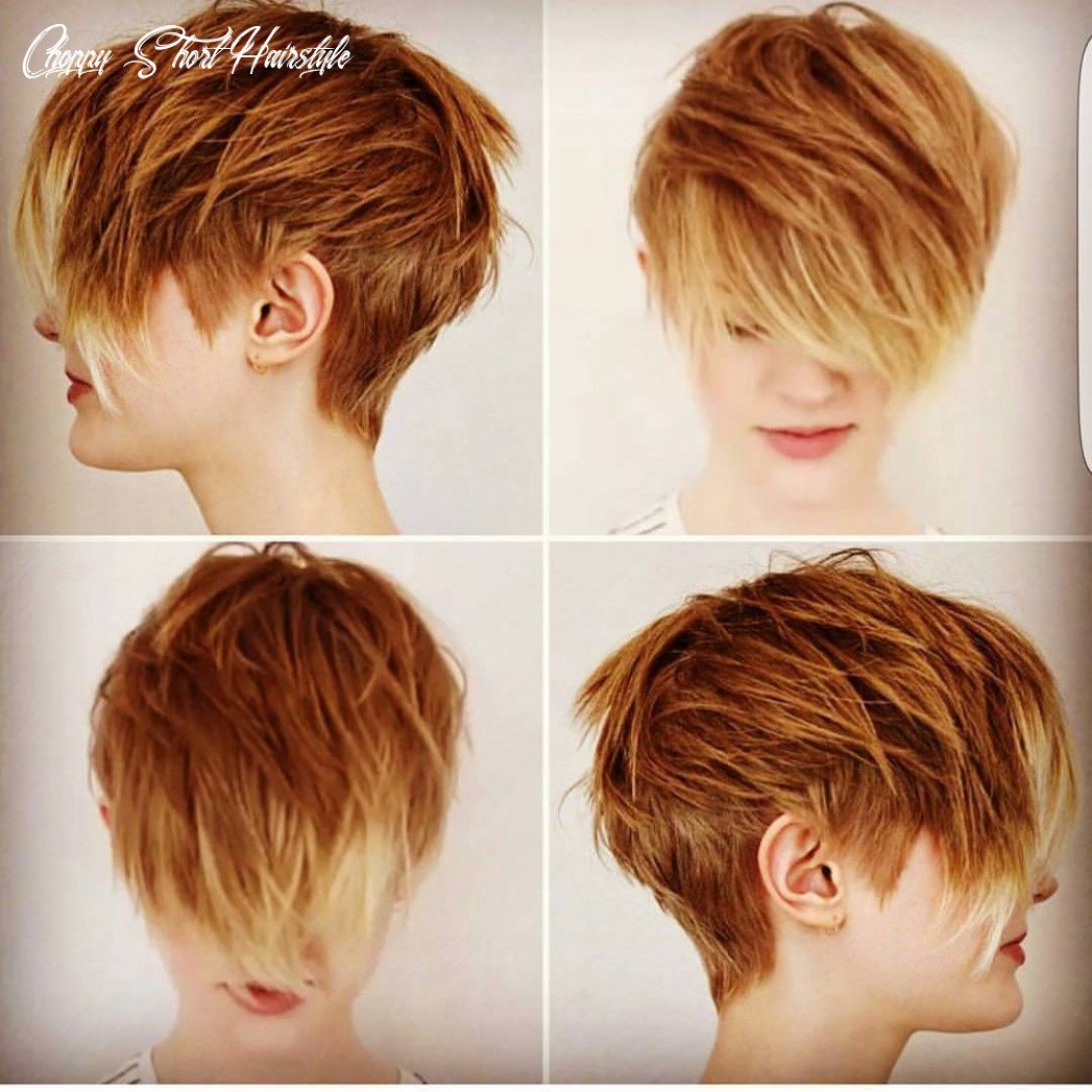 9 choppy haircuts for short hair in crazy colors 9 choppy short hairstyle
