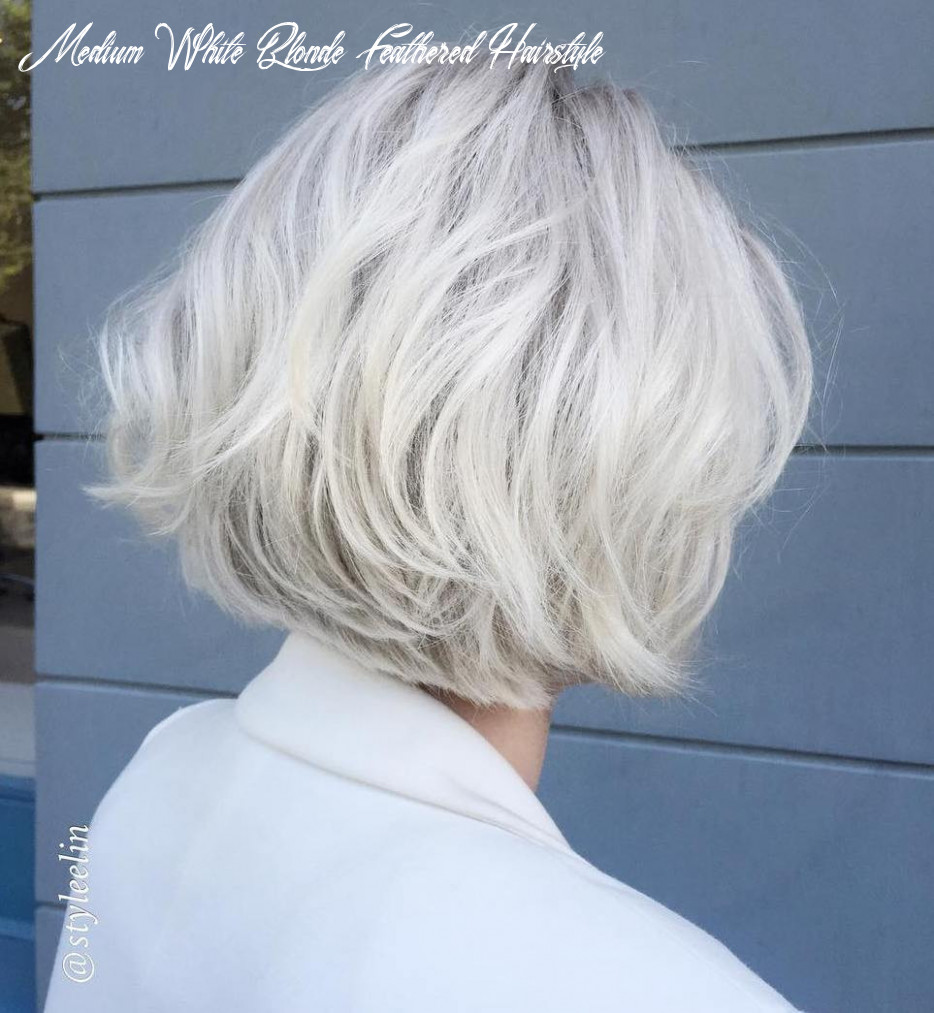 9 classy & simple short hairstyles for older women sensod medium white blonde feathered hairstyle