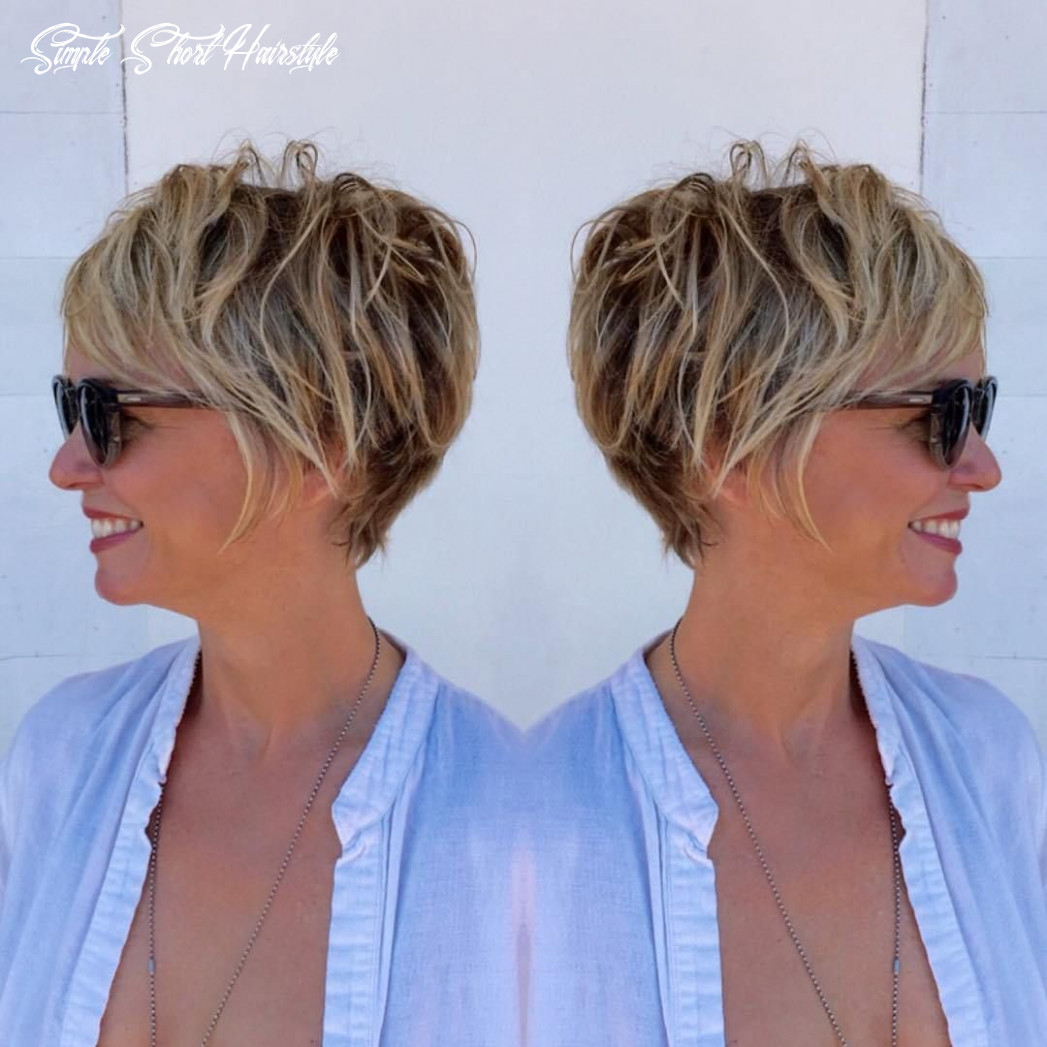 9 classy and simple short hairstyles for women over 9 | frisuren