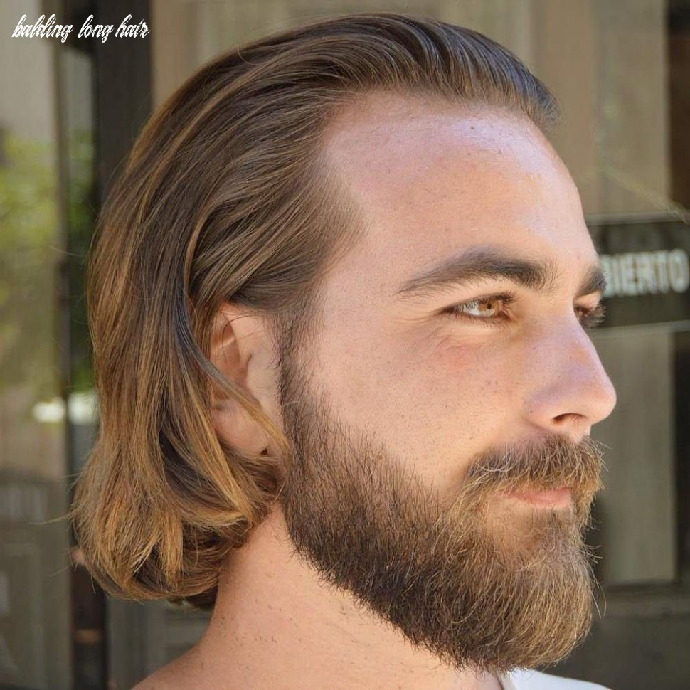 9 classy haircuts and hairstyles for balding men   long hair