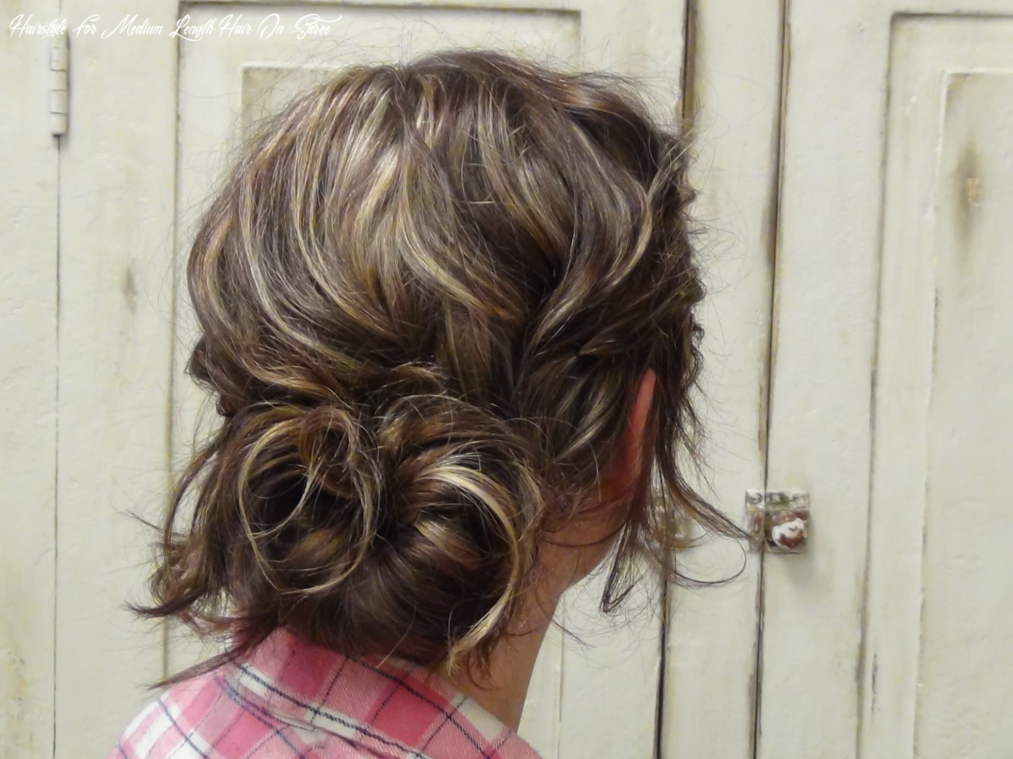 9 classy hairstyles for sarees fashionpro hairstyle for medium length hair on saree