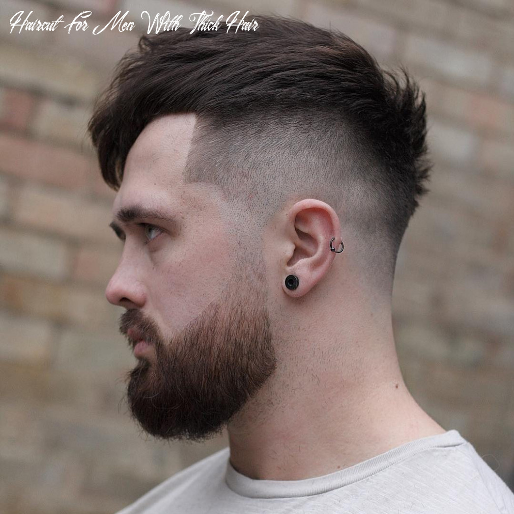 9 cool haircuts for men with thick hair (short medium) haircut for men with thick hair