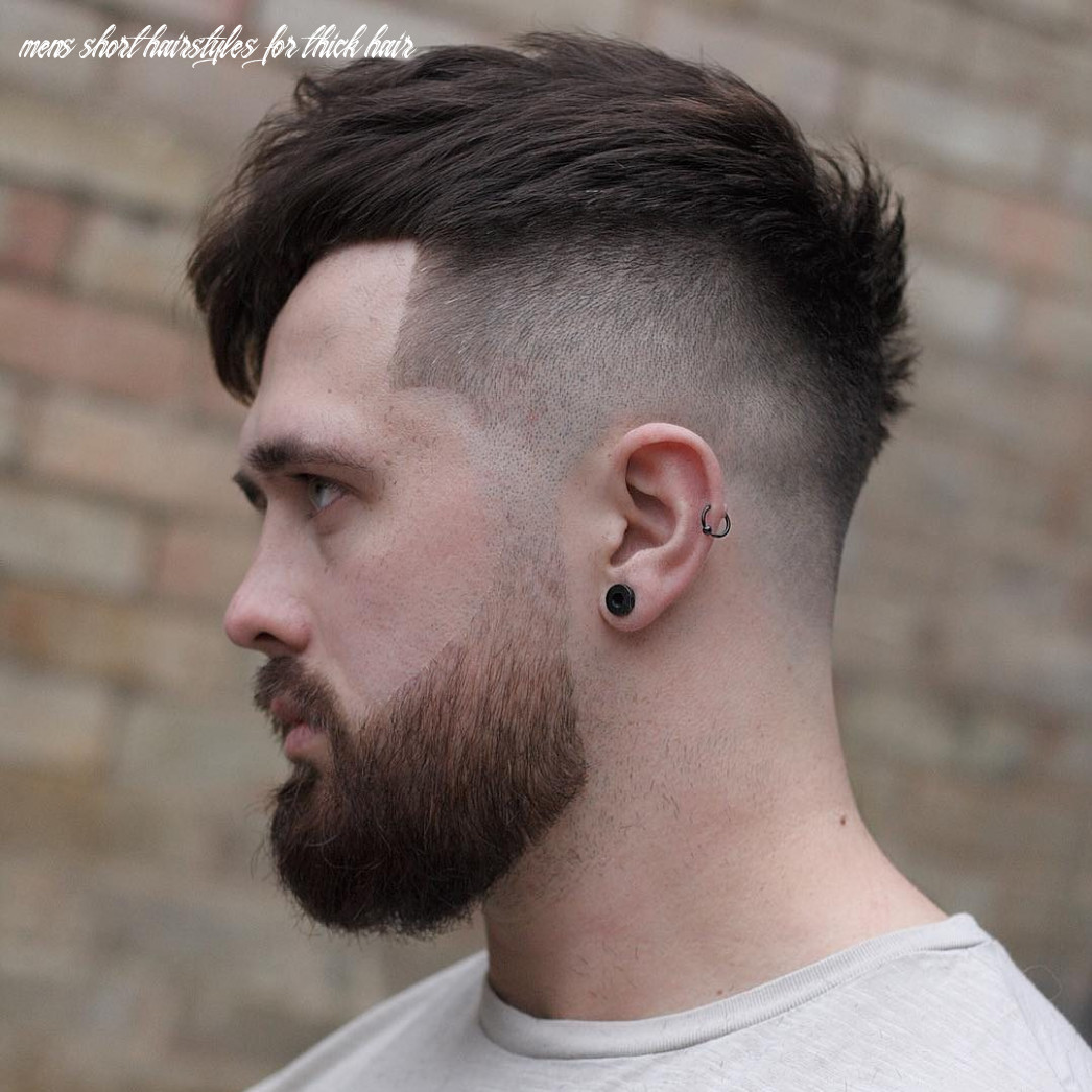 9 cool haircuts for men with thick hair (short medium) mens short hairstyles for thick hair