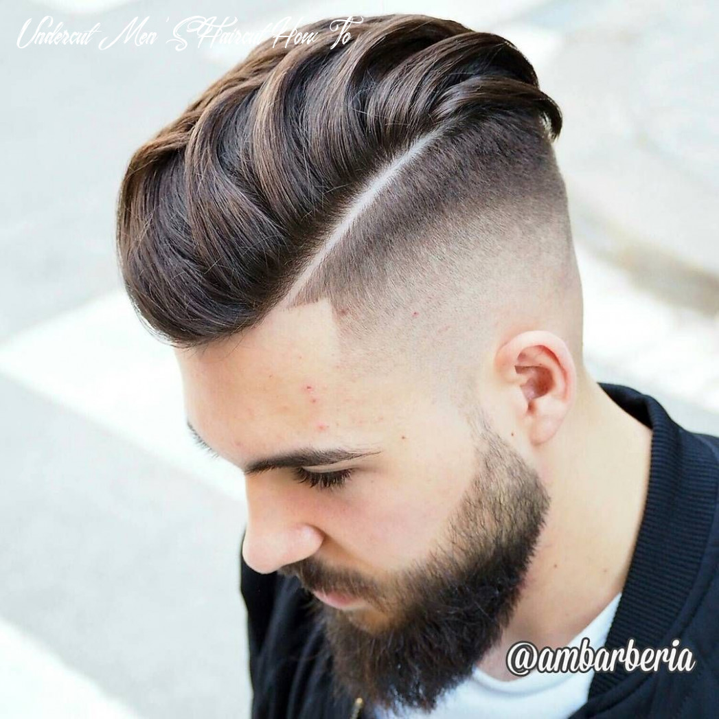 9 coolest undercut hairstyles for men | undercut fade hairstyle