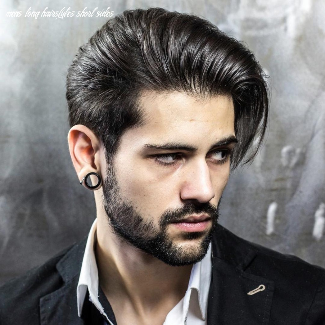 9 creative short on sides long on top haircuts [9 ideas] mens long hairstyles short sides