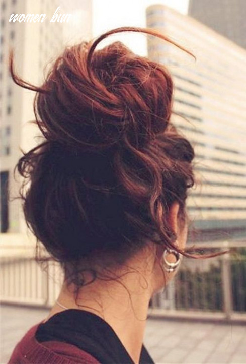 9 cute & easy bun hairstyles for women 9 9 | frisuren