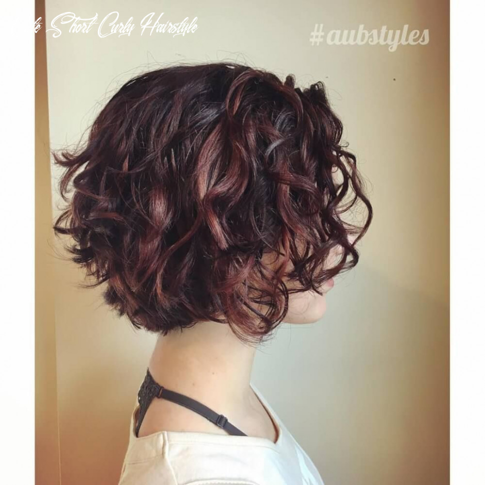 9 cute & easy hairstyles for short curly hair | haircuts for