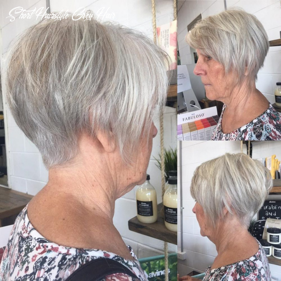 9 cute & youthful short hairstyles for women over 9 short hairstyle grey hair