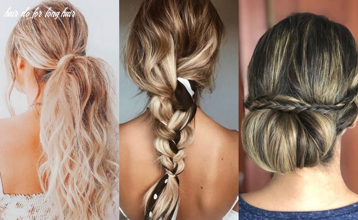 9 cute and easy hairstyles for long hair to do at home ▷ legit