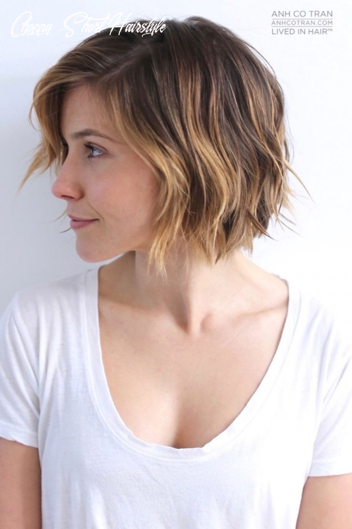 9 cute choppy bob hairstyles we love styles weekly choppy short hairstyle