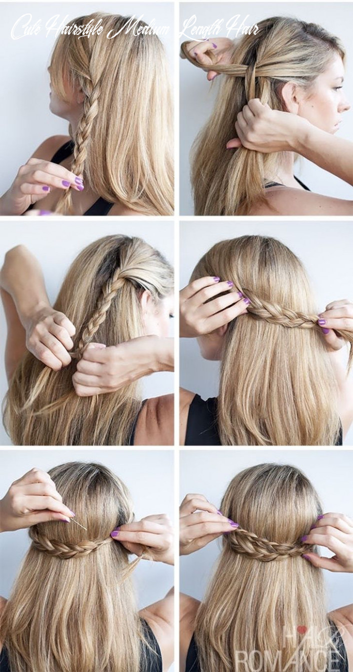 9 cute hairstyle ideas for medium-length hair