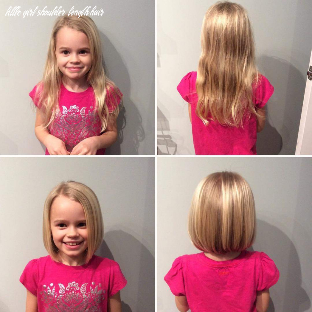 9 cute little girl haircuts for a new look this summer little girl shoulder length hair