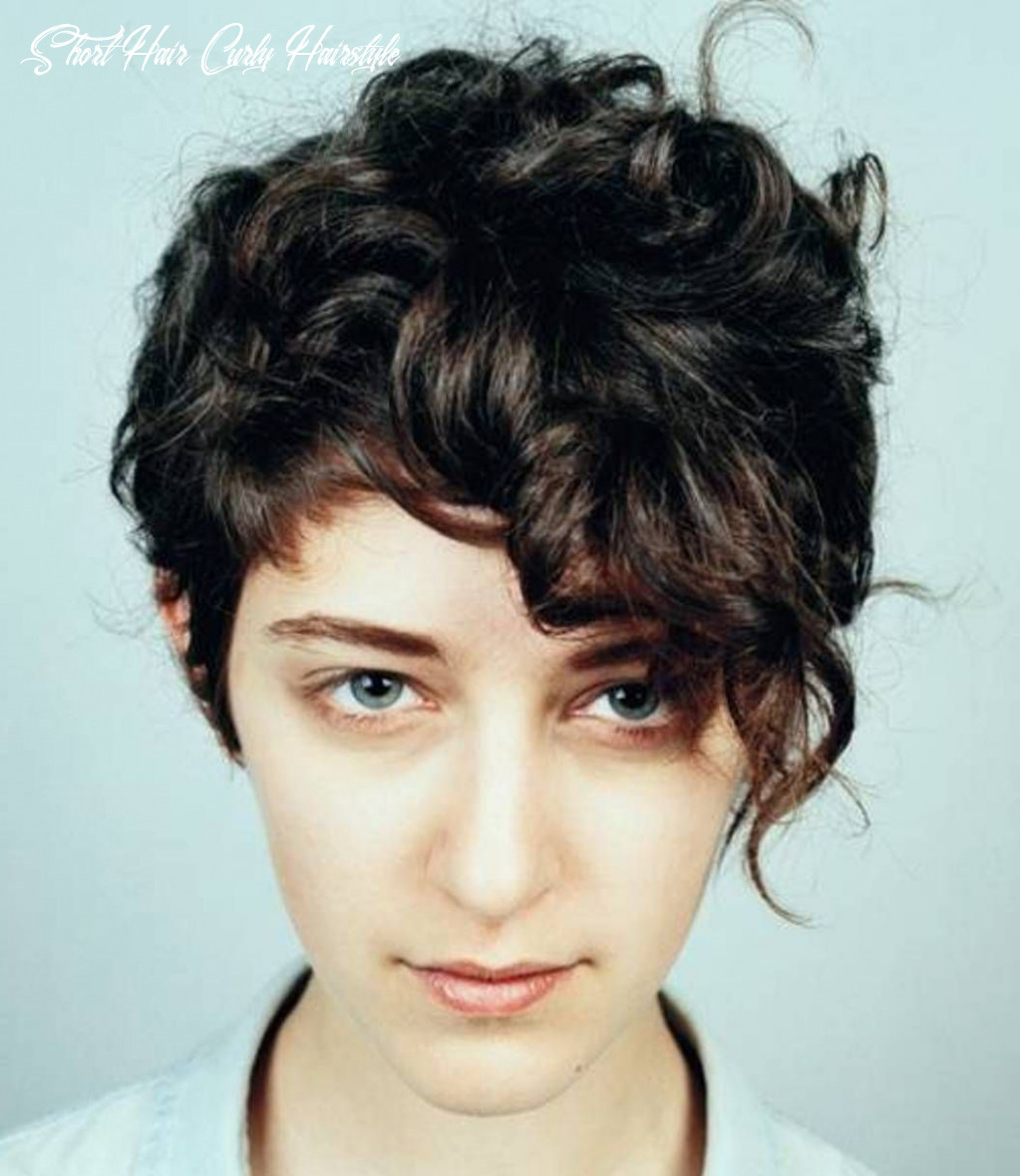 9 cute short hairstyles for women with thick hair | short curly