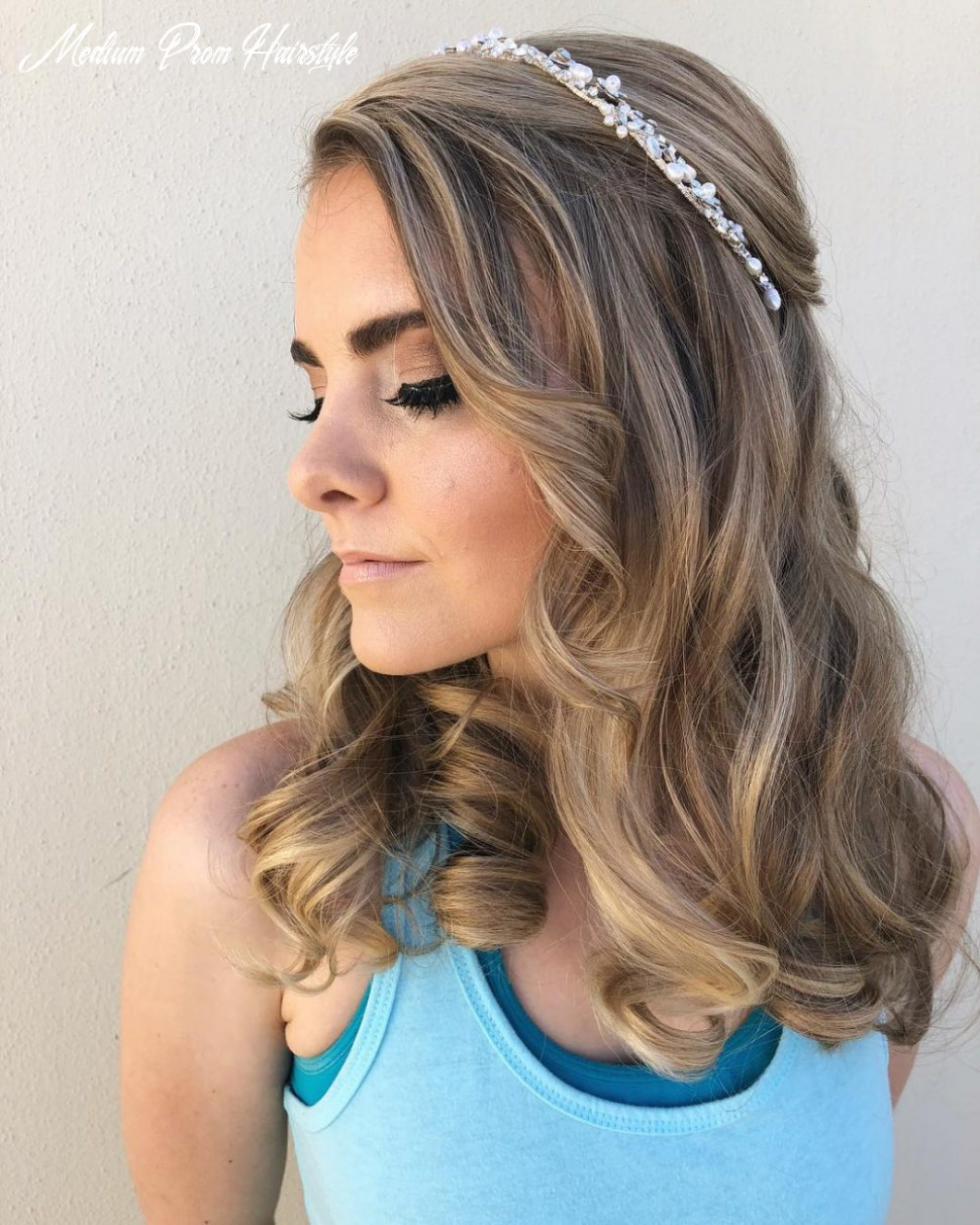 9 Cutest Prom Hairstyles for Medium Length Hair for 9