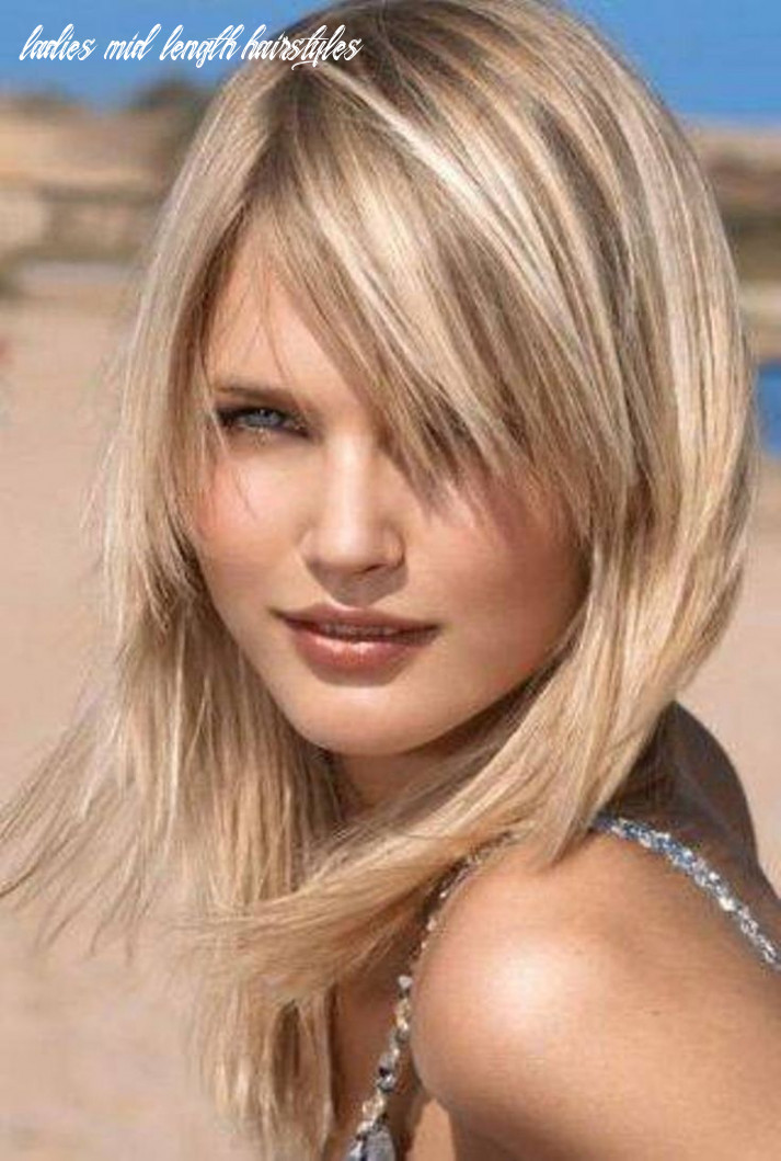 9 easy and flattering shaggy mid length hairstyles for women