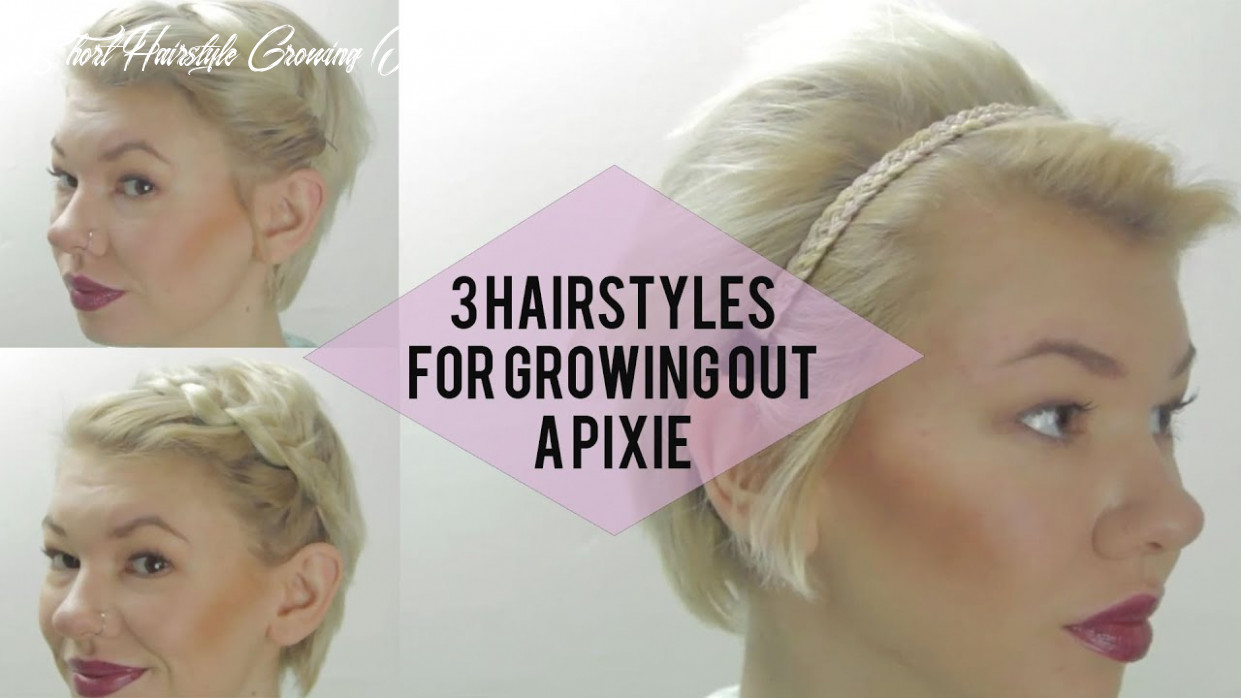 9 easy hairstyles for growing out a pixie (very short hair tutorials) short hairstyle growing out