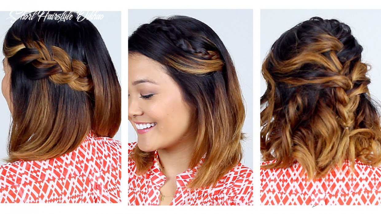 9 Easy Short Hair Hairstyles!!