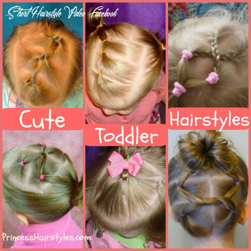 9 easy toddler hairstyles | hairstyles for girls princess hairstyles short hairstyle video facebook