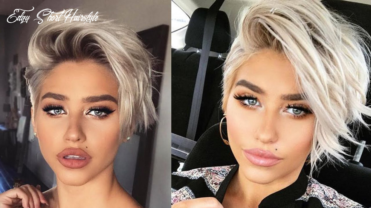 9 edgy short haircuts for women 😍 professional haircut edgy short hairstyle