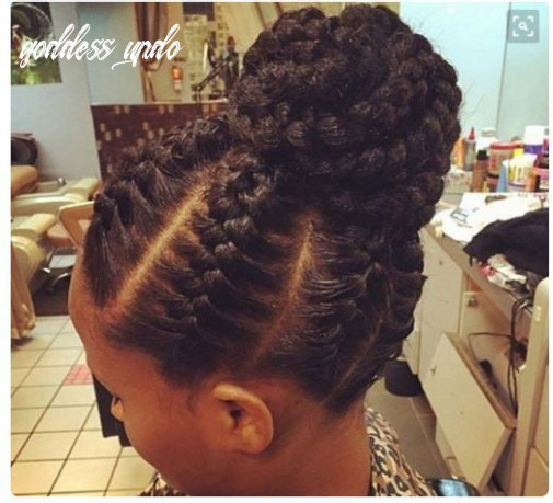 9 examples of goddess braids you can choose from for your next