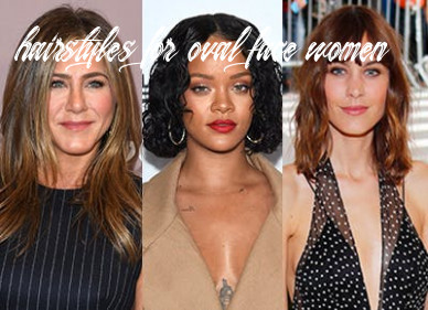 9 flattering haircuts for oval faces purewow hairstyles for oval face women