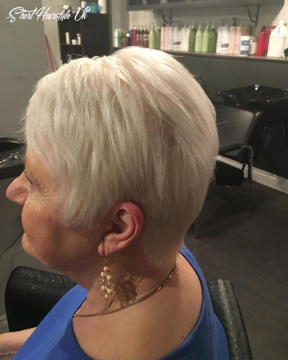 9 Flattering Short Haircuts for Older Women in 9
