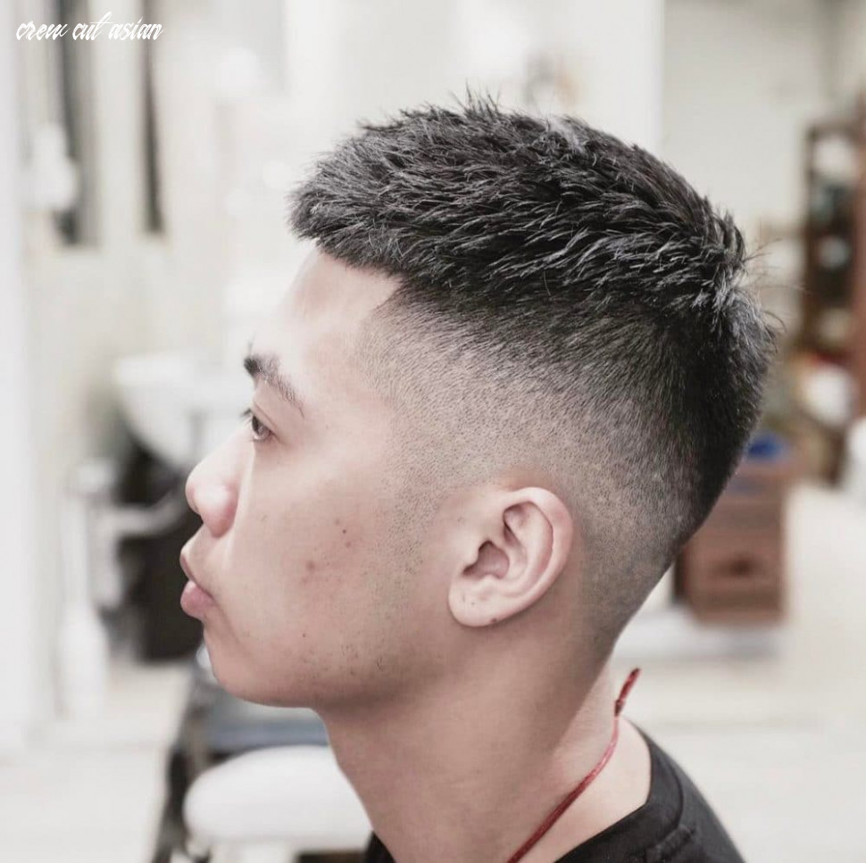 9 fresh crew cut haircuts for men [updated for 9] crew cut asian