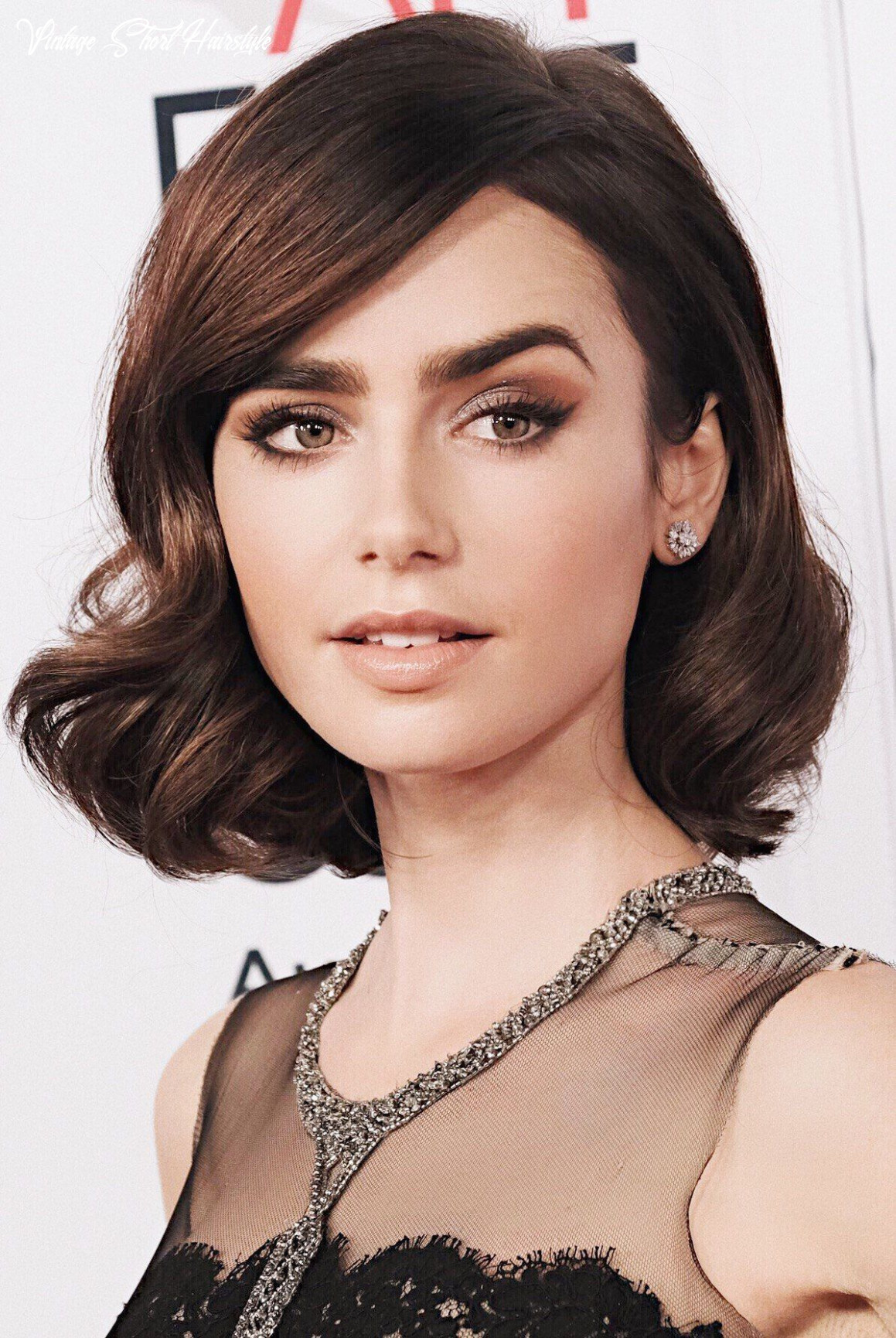 9 glamour short hairstyle idea for women in party | thick hair