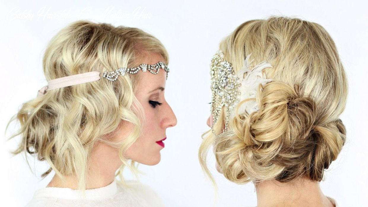 9 gorgeous gatsby inspired hairstyles gatsby hairstyle for medium hair