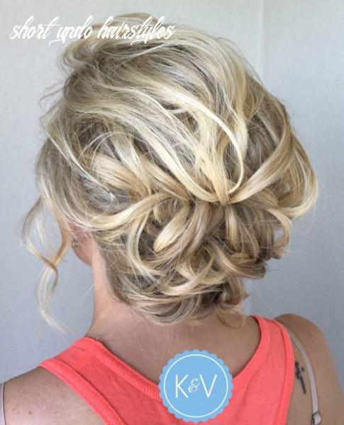 9 gorgeous updos for short hair that look totally stunning short updo hairstyles