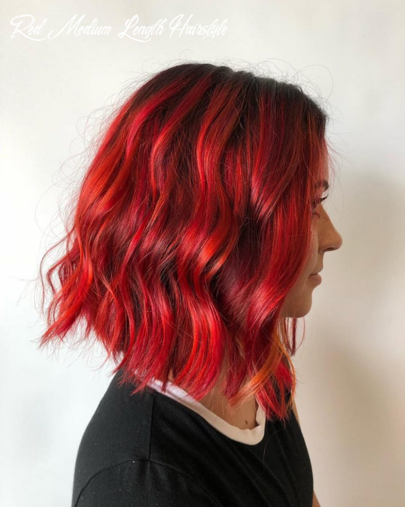 9 hair styles for gorgeous red hair prochronism red medium length hairstyle