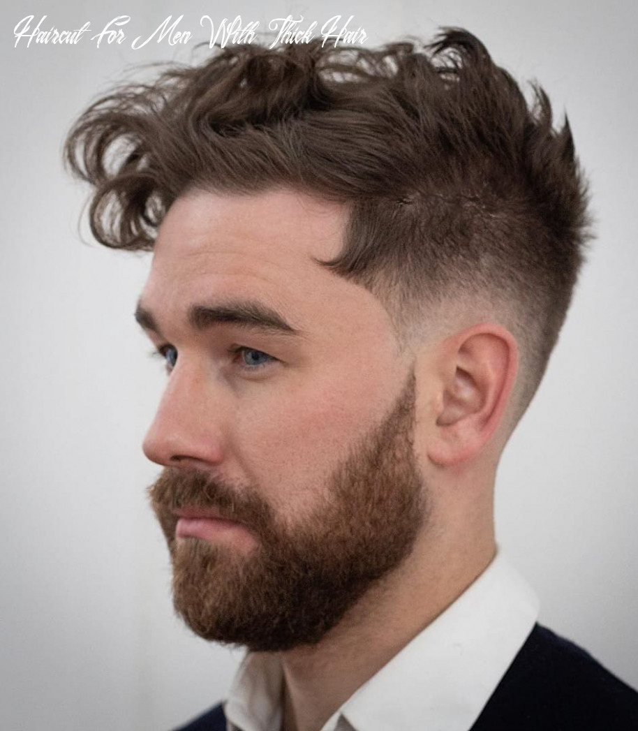 9 haircuts for men with thick hair (high volume) haircut for men with thick hair