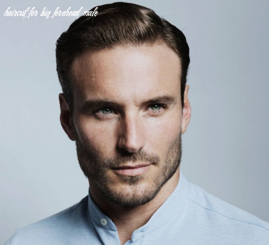 9 hairstyles for men with thin hair and big forehead haircut for big forehead male