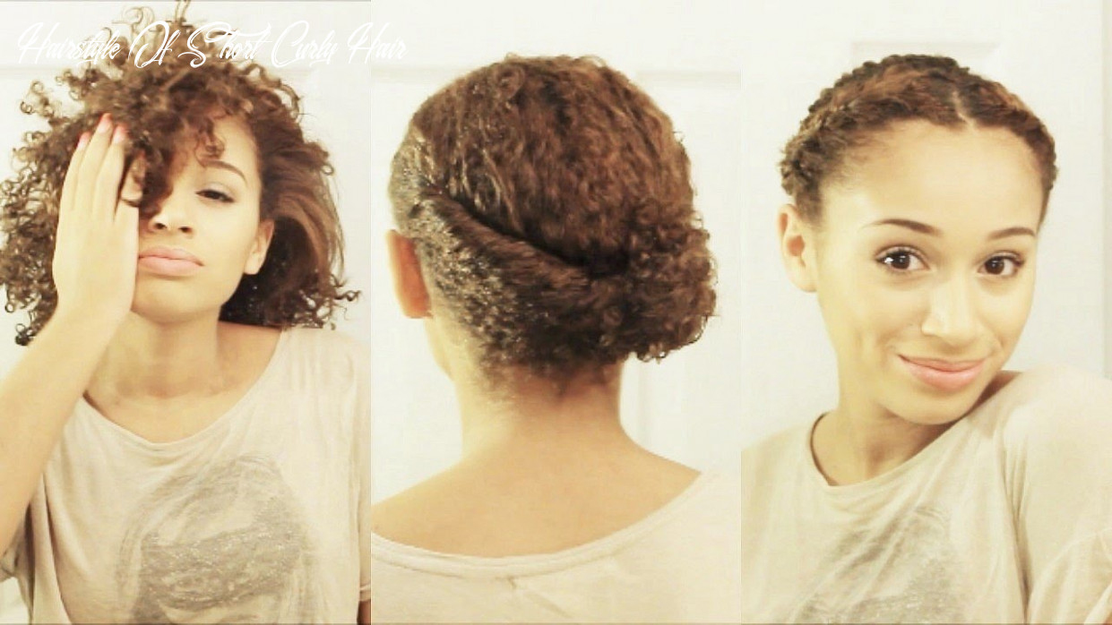 9 hairstyles for short curly hair hairstyle of short curly hair