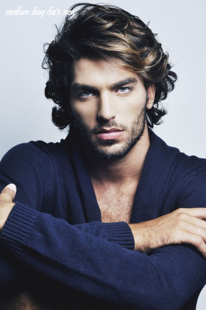 9 Hairstyles for Thick Hair Men's   Long hair styles men, Mens ...