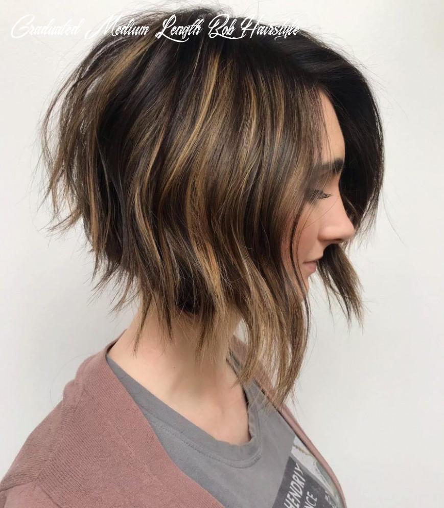 9 hot graduated bob haircuts for women of all ages (9 update) graduated medium length bob hairstyle