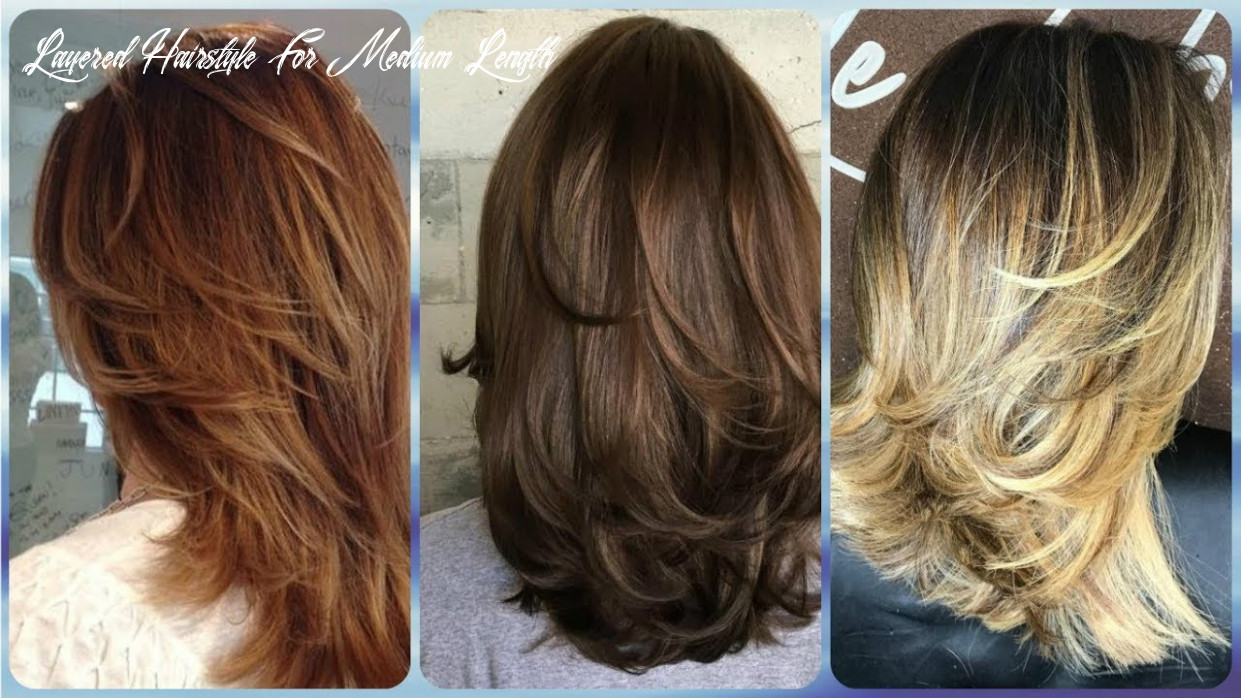 9 hottest ideas for trendy layered haircuts for medium length