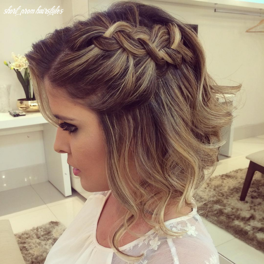 9 hottest prom hairstyles for short hair hairstyles weekly short prom hairstyles